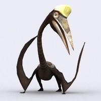 3DRT - Quetzalcoatlus