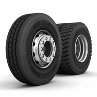 3d truck wheels continental hsc1 model