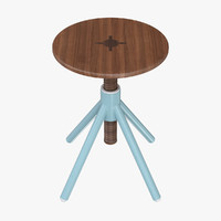 Coordination Thread Family High Bistro Stool