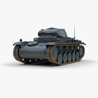 maya german ww2 panzer 2 tank