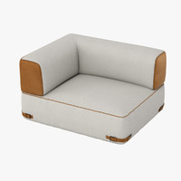 3d fendi soho sofa