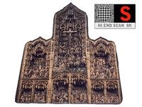 3d gothic architecture 8k