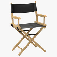 director's chair 3D models