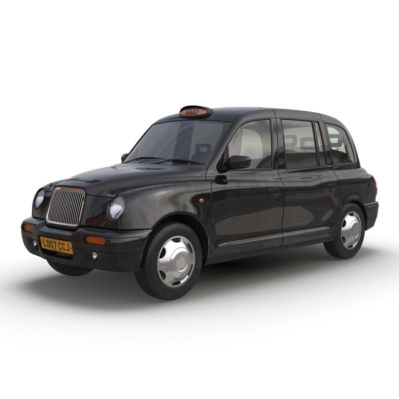 London Cab TX1 Simple Interior 3d model 01.jpg
