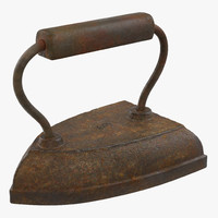 vintage clothes iron