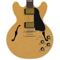 3d guitar gibson es model