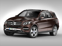 3ds max mercedes benz gle