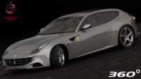 3d ferrari ff 2011 model