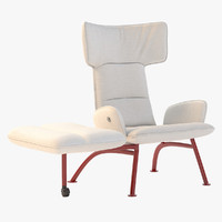 chair footrest 3d model