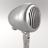 3d microphone blender cycles