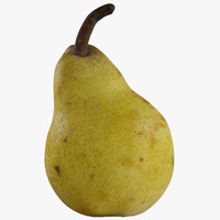 3d pear model