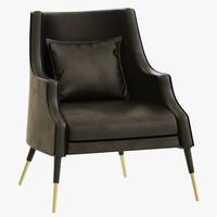 3d model of delightfull elis armchair