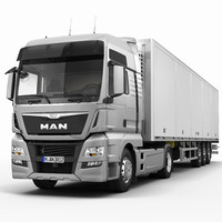 MAN TGX XXL (Semi-Trailer)