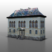 house french 3d model