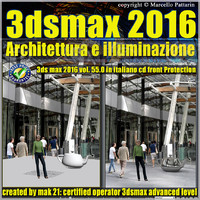 055 3ds max 2016 Architettura e illuminazione vol 55 cd front