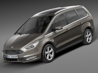ford galaxy 3D models