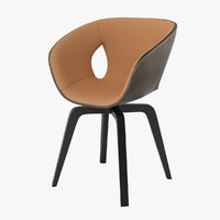 3d poltrana frau ginger chair