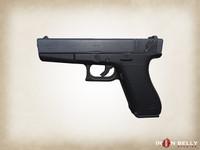 weapon aaa g18 3d fbx