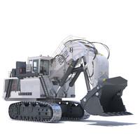 Excavator LIEBHERR R996