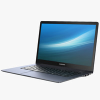 3d model laptop samsung ativ book