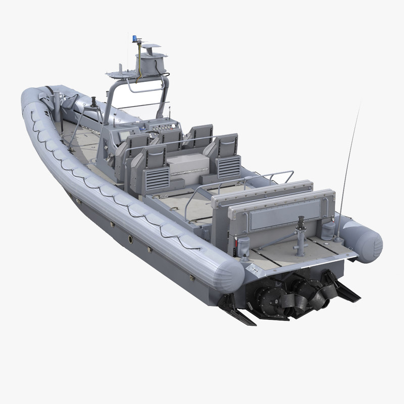 3d model of Naval Special Warfare Rigid Hull Inflatable Boat RHIB 00.jpg
