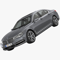 3d bmw 7-series design pure model