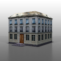 3ds max house french