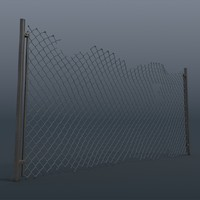 3d damage netting model