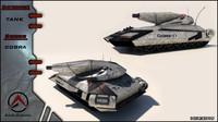 3d tank future model