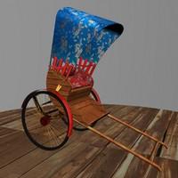 maya chinese rickshaw