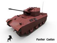 3d flakpanzer coelian german flak
