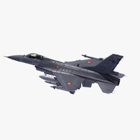3ds f-16 falcon turkish air force