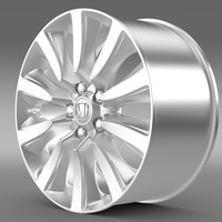 honda legend hybrid rim 3d model