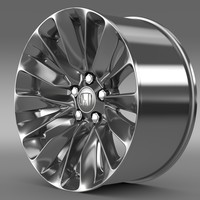 honda legend rim 3d model