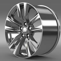 infiniti q70 hybrid rim 3d model