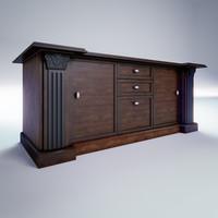 3dsmax kitchen table office