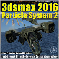3ds max 2016 Particle System 2 volume 38 cd front