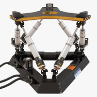 3d hexapod platform model