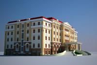 3d office house model