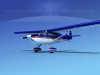 citabria bellanca 3d model