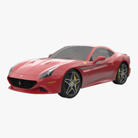 3d ferrari california t 2015 model