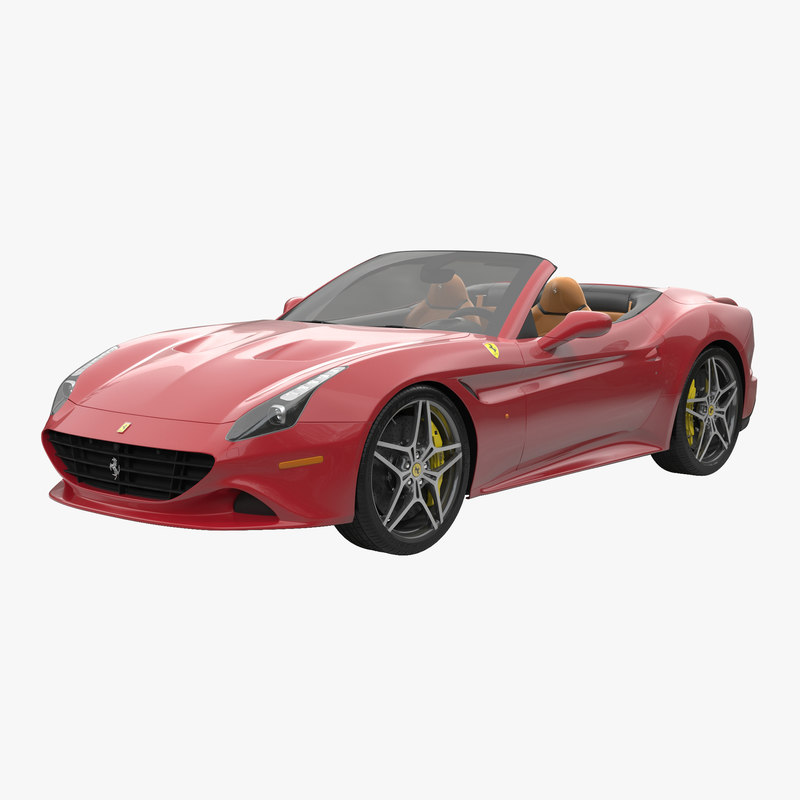 2016 Ferrari California Interior: 3d Ferrari California T 2015
