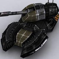 sci-fi tank 3ds