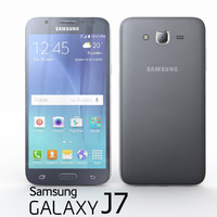 3d samsung galaxy j7 black model