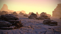 desert planet scan 3d model