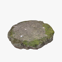 3ds max mossy stone