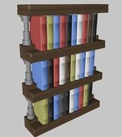 obj lego bookcase