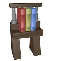 3d obj lego dresser book