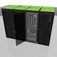 rack server build 3d model