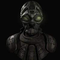 alien head max